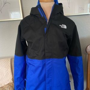 NORTH FACE double lined windbreaker